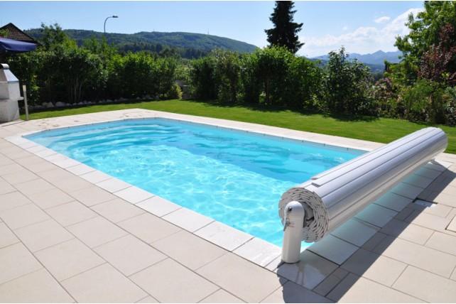 Installation d'un volet roulant pour piscine par BTV-Piscine à Narbonne