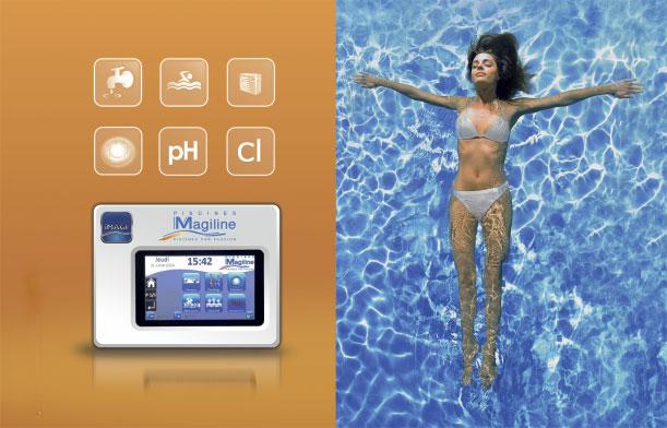 Magiline invente la piscine intelligente