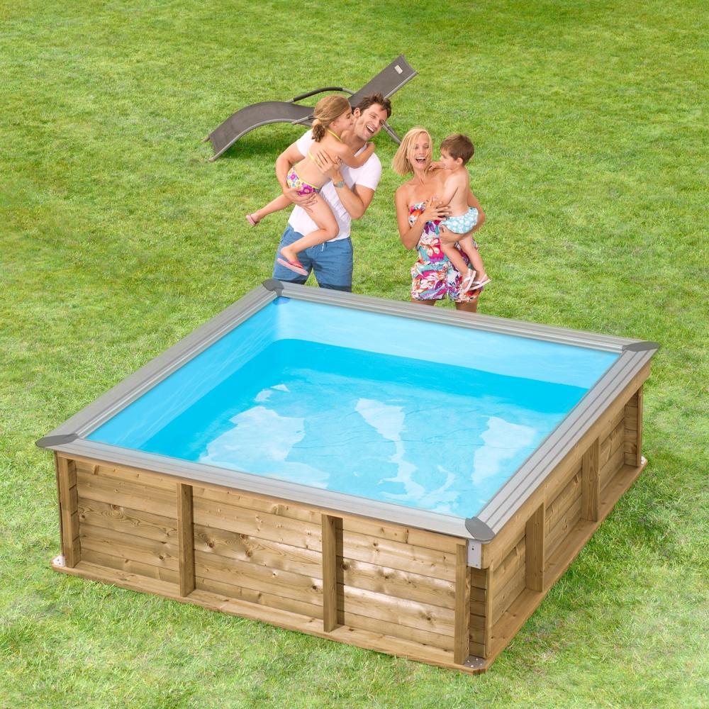 Pistoche : la piscine en bois pour les enfants en toute sécurité !